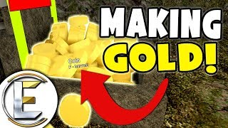 FAIRE BEAUCOUP D'OR! - Roblox (🗿CRYSTALS🗿 Booga Booga) Mining Gold EP 3