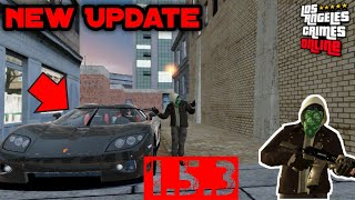 Los Angeles Crimes - New update, New Car more items for editor #LAC