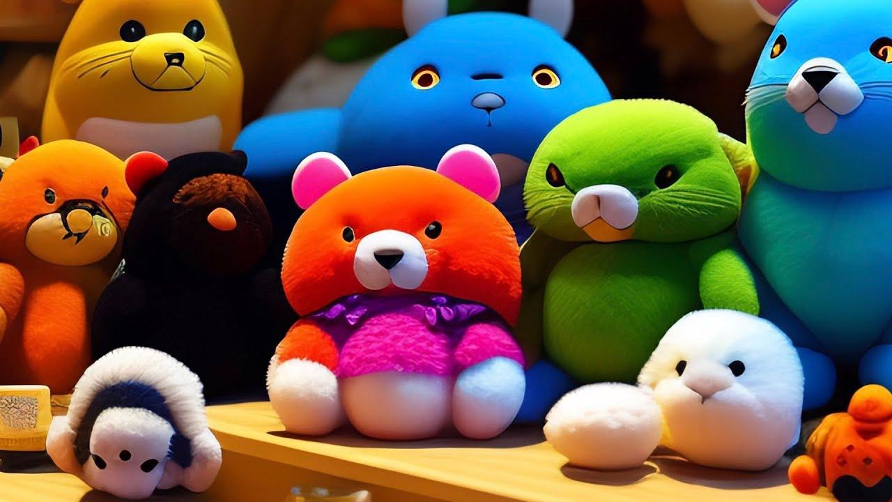 Учимся лепить из пластилина. Лепим животных, фрукты и овощи