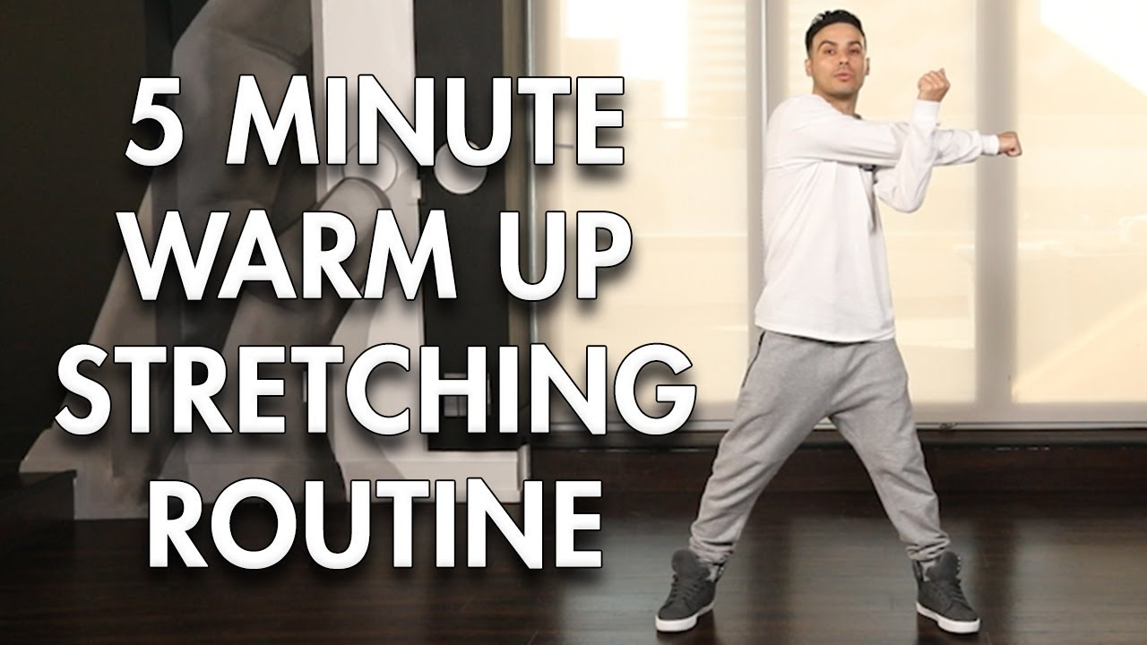 5 minute Warm up / Stretching Routine (Dance Tutorial) | MihranTV
