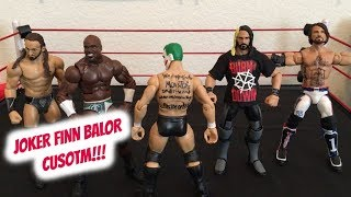 CUSTOM & FIX UP UNBOXING!! CUSTOM JOKER FINN BALOR! (WWE ACTION FIGURE UNBOXING!)