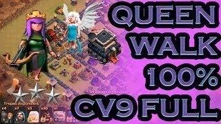 Clash Of Clans - OsDeFé: Ataque Monstro!! Queen Walk com Pekkas e Corredores #POKOTOP