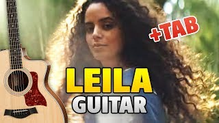 Jah Khalib Leila Fingerstyle Guitar Cover With Tabs Chords Lyrics Youtube