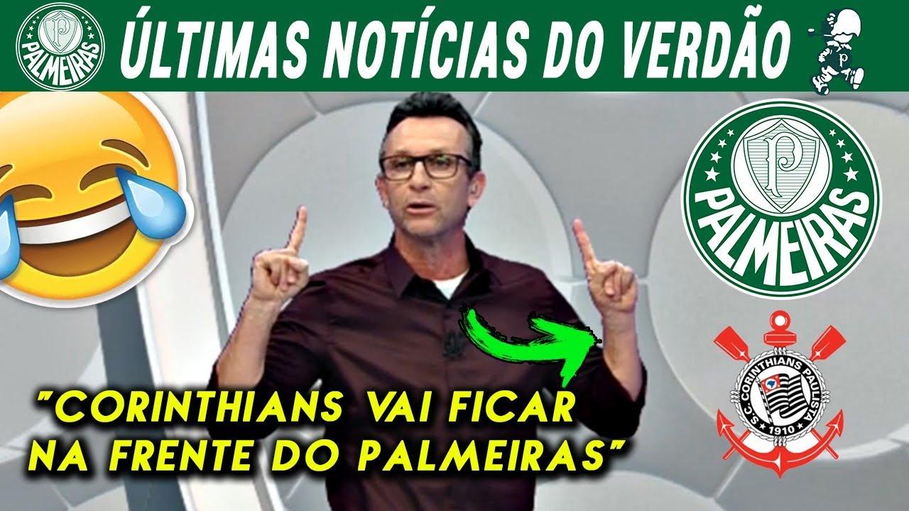 ???????? Neto diz que o Corinthians vai ficar na FRENTE do PALMEIRAS no Campeonato Brasileiro!