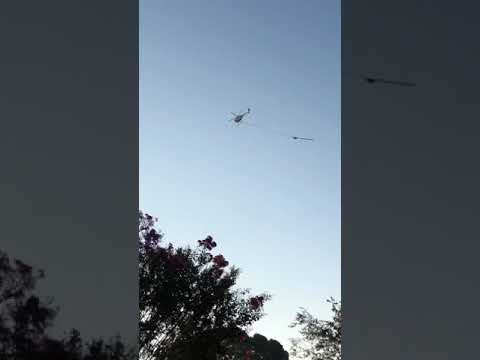 Helicopter passed over school