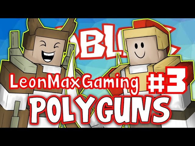 PolyGuns Gameplay #3 | Roblox