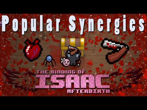 The Binding of Isaac Afterbirth   Isaac's Blood Rights   Popular Synergies!