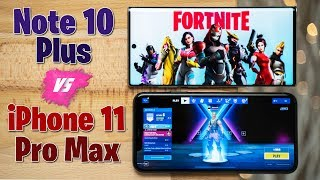 Fortnite: iPhone 11 Pro vs Note 10 - Gaming Battery Life Test!