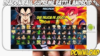 Dragon Ball Super Supreme Battle Para Android - Goku Ssgvegeta Bluejanembabroly E Maisdownload