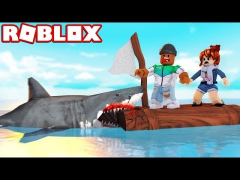 SHARK ATTACK IN ROBLOX!!