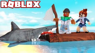 SHARK ATTACK IN ROBLOX!!