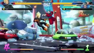 DBFZ Friendlies - MasonEliwood (Base Vegeta/Goku Blue/Black) vs. DarZr (Adult Gohan/Cell/Veg SS) #10