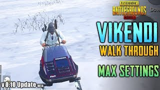 NEW VIKENDI SNOW MAP GAMEPLAY on HDR + ULTRA Graphics | PUBG Mobile Global Update 0.10.0