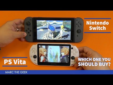 Nintendo Switch vs PS Vita Compared - Which One You Should Buy?
