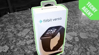 Fitbit Versa - Unboxing & First Impressions
