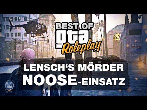 Lensch's Mörder - NOOSE Einsatz (Alternate Life / Best of GTA Roleplay)
