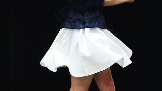 http://yaque.jp/topics/skirt/ きれいな回転で、振り切った瞬間にスカ...