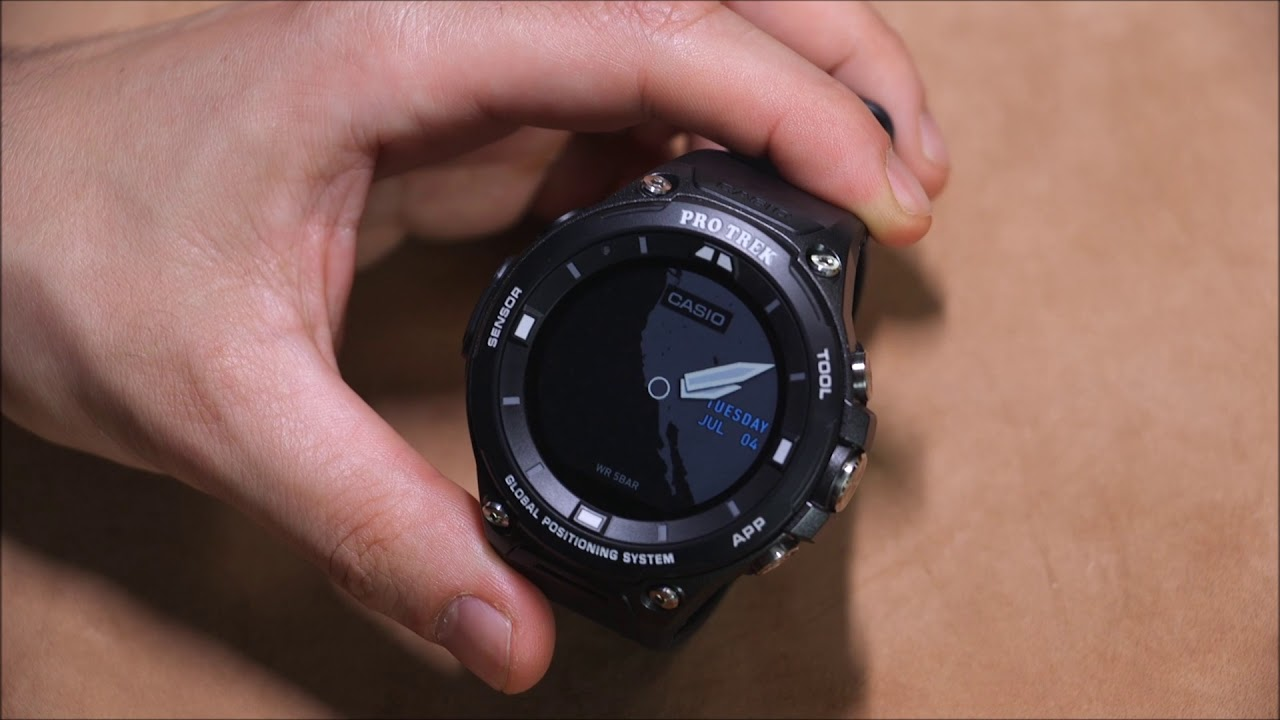 diseño innovador 3a1ef e301b Casio Pro Trek Smart WSD-F20 Smartwatch Review | aBlogtoWatch