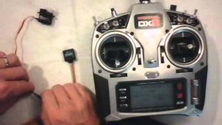 setting up the ga250 gyro