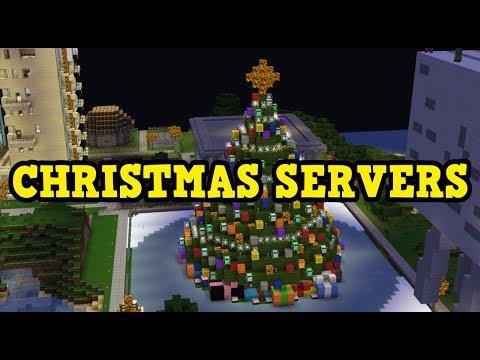 Minecraft Xbox / PE 1.2.8 - Christmas Server Events