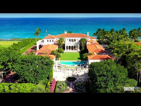 Palm Beach Oceanfront Coquina Masterpiece - $135 Million - DroneHub