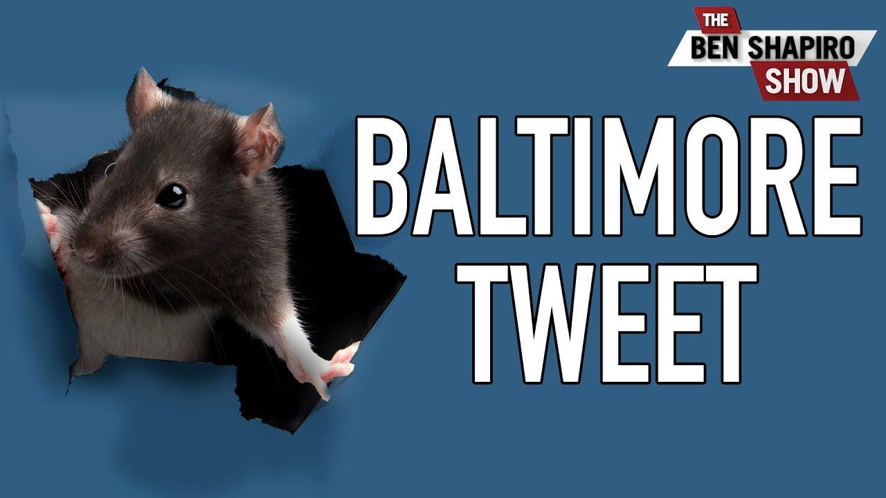 Why Trump's Baltimore Tweet Isn't Racist
