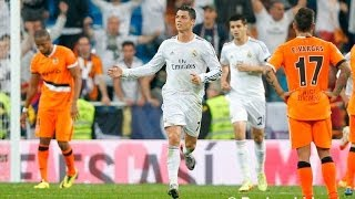 Cristiano Ronaldo's incredible backheel goal against Valencia (04/05/2014)
