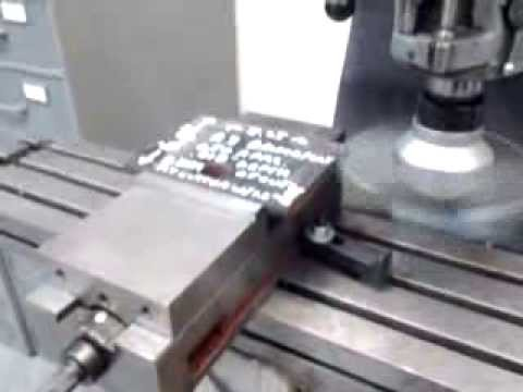Suburban Tool Big Fly Cutter For A Bridgeport Mill Youtube