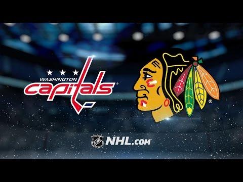 Crawford, Rasmussen lead Blackhawks over Capitals