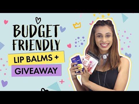 Budget Friendly Lip Balms + Giveaway   Contest   Beauty   Pinkvilla