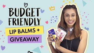 Budget Friendly Lip Balms + Giveaway | Contest | Beauty | Pinkvilla
