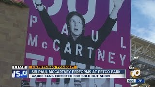 Paul McCartney to rock San Diego at Petco Park