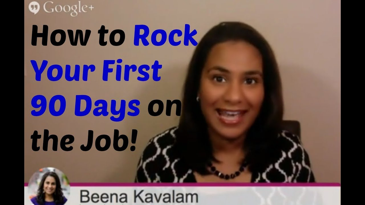 first 90 days plan to make an impact at your new job