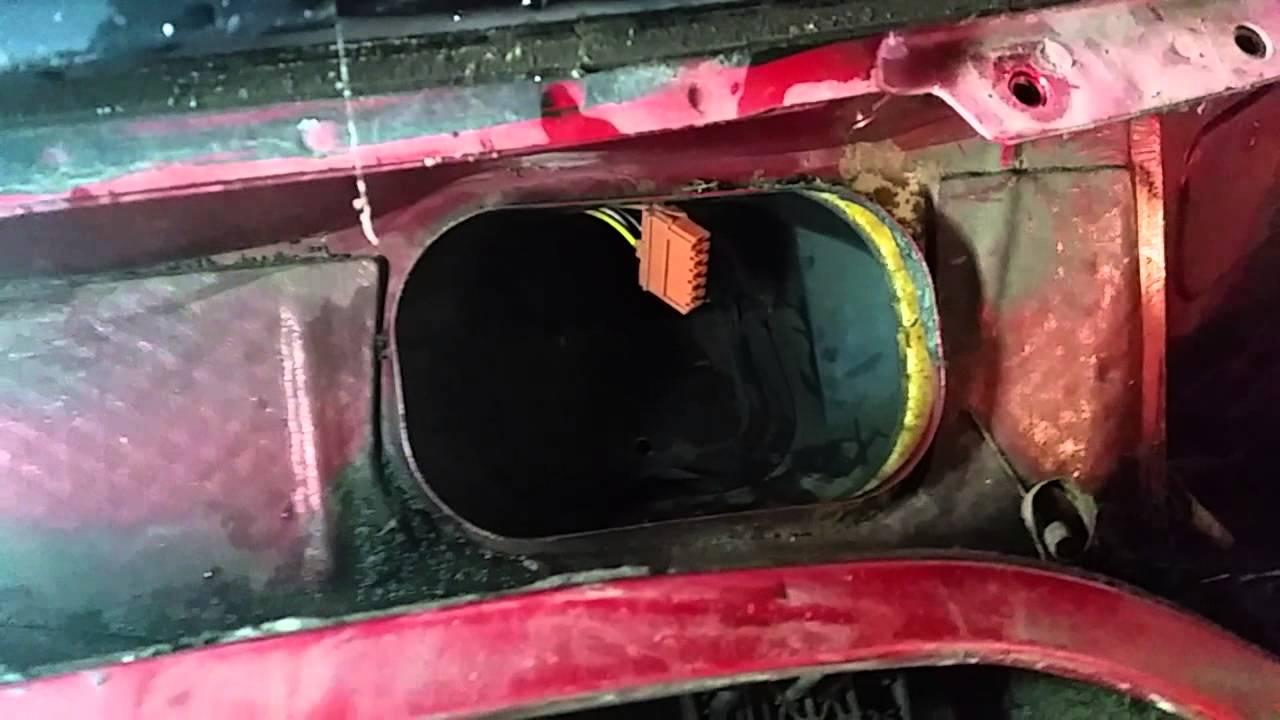 2001 peugeot 306 heater resistor replacement