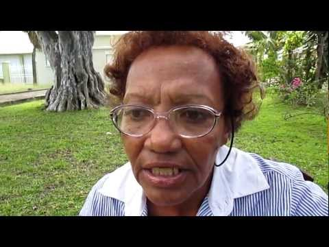 Angela Cole talks about racism in Barbados