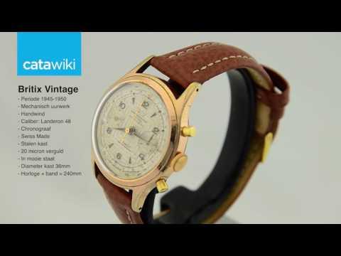 Britix Vintage horloge