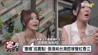 張瑋純「撒嬌」成賣點!台灣腔嗲聲紅香江 宅男的世界 20170525