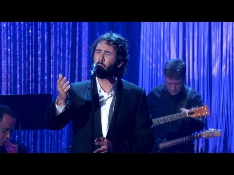 Josh Groban Performs 'What I Did for Love'