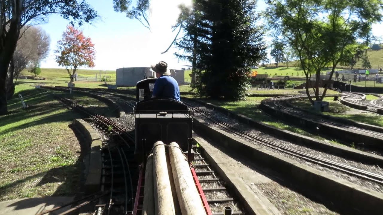 Model Steam Train Ride At Luddenham Youtube