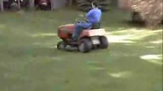 noma all wheel steer lawn tractor 18hp kohler v twin
