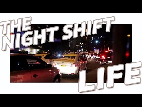 """A DAY IN THE LIFE OF A NIGHT SHIFT WORKER 
