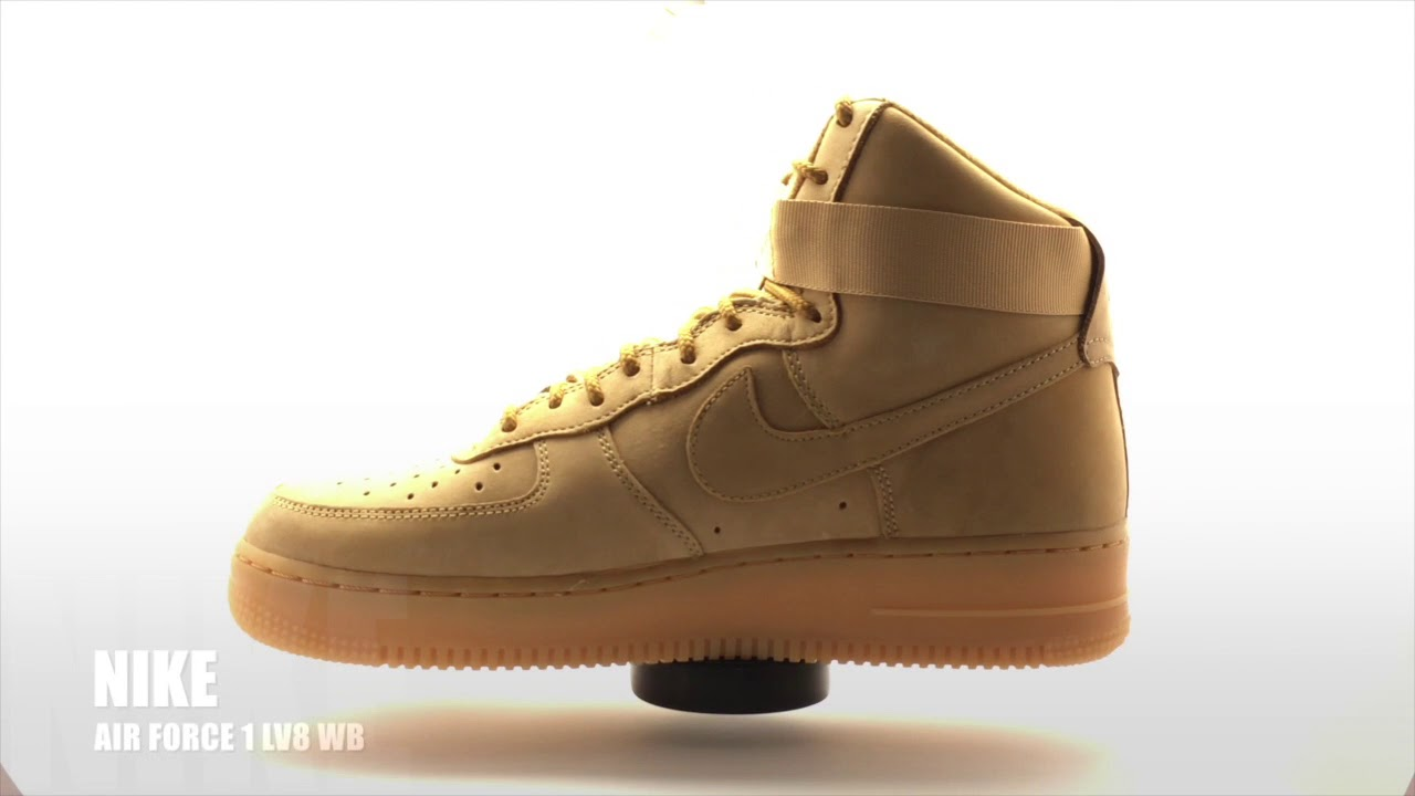 buy online 966e1 f4851 Sneakers 360 Nike Air FORCE 1 HI LV8 WB Flex 882096-200