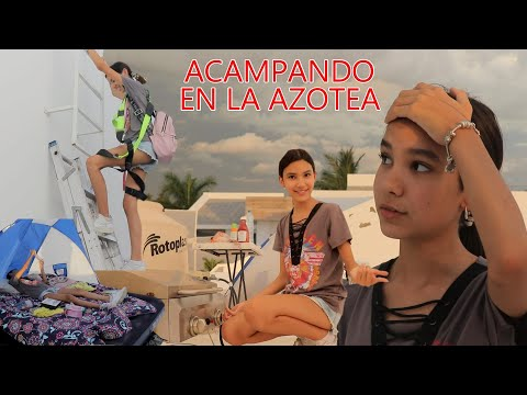 ACAMPANDO EN LA AZOTEA ¿24 HORAS? | TV Ana Emilia from YouTube · Duration:  14 minutes 25 seconds