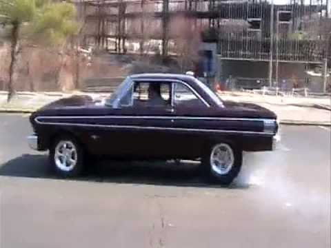 Muscle Cars Burnout Wallpapers 64 Ford Falcon Burnout Youtube