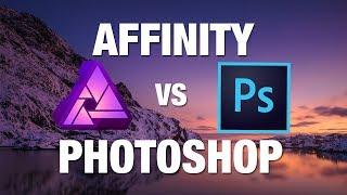 AFFINITY PHOTO ODER PHOTOSHOP ? 📷 Kann das günstige Programm mithalten?