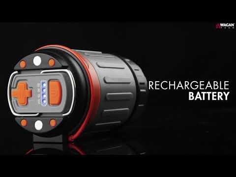 Brite-Nite Pop-Up USB Lantern  240-Lumen Lamp S.O.S Mode
