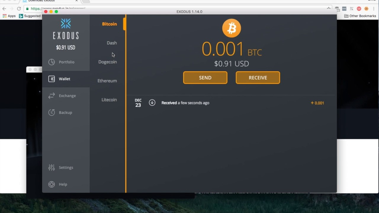 a mac wallet for cryptocurrency