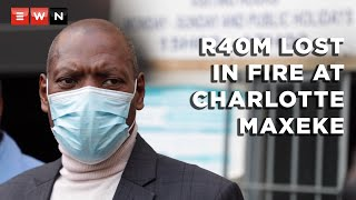 Health Minister Zweli Mkhize visited the Charlotte Maxeke Academic Hospital in Johannesburg on 20 April 2021 for an onsite inspection after a fire engulfed the hospital and led to its temporary closure. Mkhize confirmed that the hospital lost R40 million worth of stock in the fire.  #CharlotteMaxekeFire #ZweliMkhize #GautengHealth