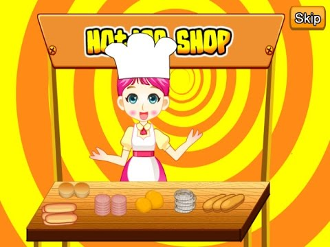 Hotdog Shop - Shopping & Cooking Games For Kids
