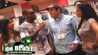 "ONBLAST DVD ""Do Denim Clothing"" Interview  @ Magic Show Las Vegas"